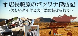 大阪ダイヤモンドボツワナ探訪記