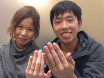 婚約指輪の種類が豊富で素敵な指輪に出会えた。